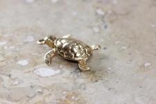 VINTAGE 14K GOLD 3D TURTLE CHARM PENDANT 14KARAT