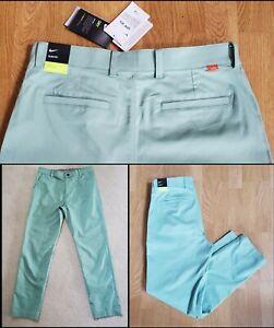 Nike Slim Golf Pants UPF40 Dri-Fit Healing Jade DA4089-316 Men's Size 34x32 NWTs