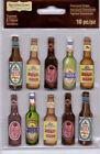 Recollections BEER, WINE, LIQUOR Embellishment Stickers~U PICK~Gorgeous! QK SHIP