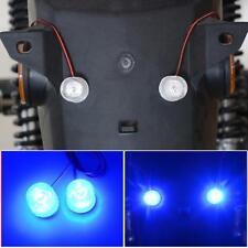 2Pc Clignotant Ampoules 12-85V Lumière d'urgence Lampe LED Strobe Extérieur