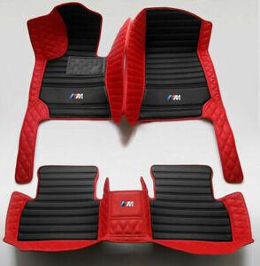 Fit BMW 5 Series F10 F07 F18 F90 G30 G31 F11 E60 Custom Luxury Car Floor Mats