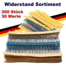 300 Metallfilm Widerstände 30 Werte x 10 Stück Widerstand Sortiment Set Kit