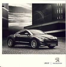 Peugeot RCZ 09 / 2010 catalogue brochure polonais rare