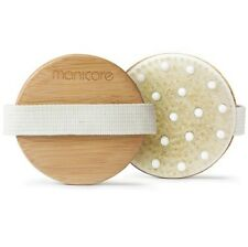 MANICARE DRY BODY BRUSH REDUCES CELLULITE EXFOLIATES DRY SKIN FOR SMOOTHER SKIN