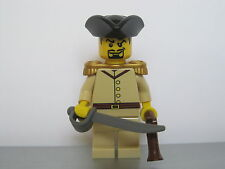 Lego PIRATES NAPOLEONIC WARS BRITISH India Colonial Infantry Officer MINIFIG