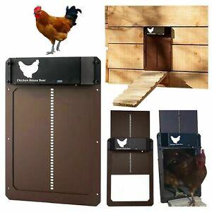 Automatic Chicken Coop Door Light-sensitive Automatic Chicken House Door High