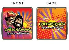 Cheech and Chong Leather Cigarette Case Holder Money Credit Cards 100mm