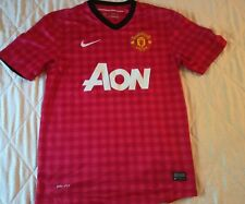 MANCHESTER-SHIRT-MAGLIA CALCIO-CAMICETA MAILLOT fOOTBALL no matchworn user sizeS