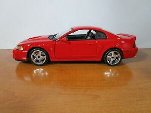 MAISTO 1/18 SPECIAL EDITION RED 2003 FORD SVT MUSTANG COBRA NICE *READ*