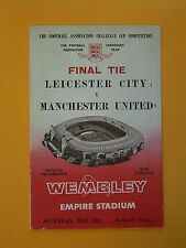 FA Cup Final - Leicester City v Manchester United - 25th May 1963