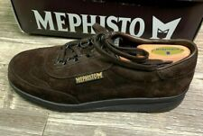 Mephisto Storm Runoff Air-Jet System Dark Brown Leather Shoes Mens US Size 8.5