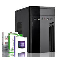 KOMPLETT PC System AMD A8 5545 4x 2,7 GHz 8GB RAM Windows 10 PRO Silent Rechner