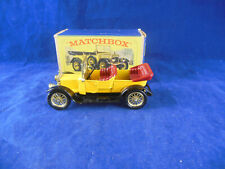 Matchbox Yesteryear Y13-2 1911 Daimler Type A12 Yellow Issue 4 Red Seat