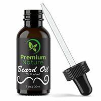 Beard Oil Conditioner for Men - Leave in Conditioner for Mustache & Beard (1 oz)