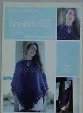 Twilley's of Stamford  Poncho Knitting Pattern In Freedom Wool  Leaflet 9005