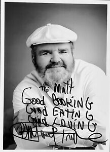 Paul Prudhomme (1940 - 2015) - Legendary Chef & Author, Autographed Photo