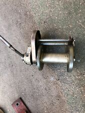 Heavy Duty Industrial Thern Hand Winch Model 4411 Worm Gear, 2000lbs Lifting