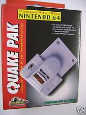 """"""" Quake Pak """" for use with Nintendo 64 / N64 Vibration BNIB"""