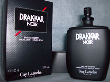 DRAKKAR NOIR EDT SPRAY  3.4 fl oz. NIB