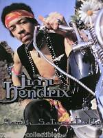 Jimi Hendrix 1997 South Saturn Delta Original Numbered Lithograph Poster
