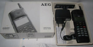 rar... Sammler aufgepasst .. TELEFUNKEN  AEG Teleport 9020 in OVP neu  D-Netz