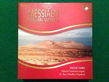 8 CDs BOX Set , Olivier MESSIAEN - ORGAN WORKS Complete WILLEM TANKE , Brilliant