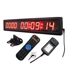 "1.8"" 10 Digits LED Digital Countdown/up Clock in Days HRS MINTS SECS NEW DESIGN"
