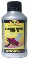 SIA FLACONE 200 ml LIQUIDO OLIO FLUIDO FRENI DOT4 UNIVERSALE per MOTO LEONART
