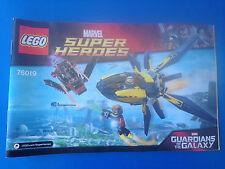 Lego 76019 Super heroes Guardians de la Galaxy Instructions notice sans BRICKS