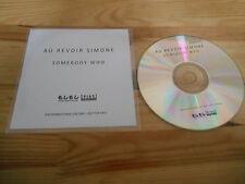 CD Indie Au Revoir Simone - Somebody Who (1 Song) Promo MOSHI MOSHI / ELEL REC