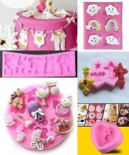 Baby 3D Silicone Fondant Cake Mould Mold Chocolate Baking Sugarcraft Decor Tools