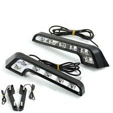 LED  Driving Lamp Fog 12V DRL Daytime Running Light White for Car Auto hot 2X