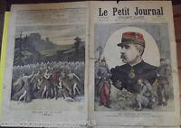 LE PETIT JOURNAL N°211. 2/12/1894. COMMANDANT LE CORPS EXPÉDITIONNAIRE DE MADAG
