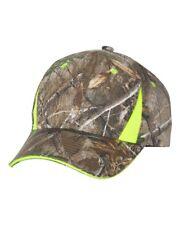 ss Outdoor Cap - Camo Cap With Hi-Vis Trim - CBI305