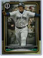 Edgar Martinez 2020 Topps Tribute 5x7 Gold #26 /10 Mariners