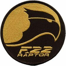 F-22 Raptor USAF Air Force Embroidered Patch