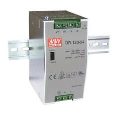Din-Rail Fuente de alimentación 120W 24V 5A ; MeanWell, DR-120-24