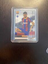 2021 Topps Merlin Soccer UEFA Champions League Pedri RC Rookie Card #89