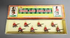 John Hill & Co.(Johillco) Lead Soldiers Highland Brigade in Original Box set 121
