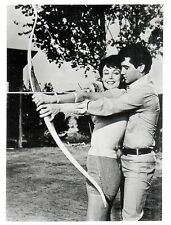 OFFICIAL WEBSITE Francine York (1938-2017) with Elvis Presley 8x10 UNSIGNED