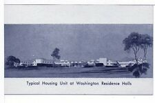 Postcard WW2 Women Workers Military War Housing Washington Suitland MD Unused