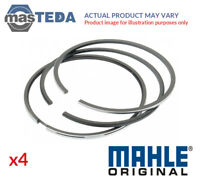4x MAHLE ORIGINAL ENGINE PISTON RING SET 011 58 N0 I NEW OE REPLACEMENT