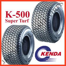TWO 18x9.50-8 Riding Mower Garden Tractor TIREs 18/9.50-8 Kenda K500 Turf 6ply