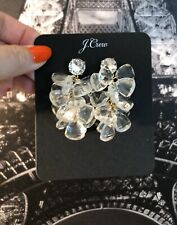 Crystal New$49.50 With J.Crew Bag! J.Crew Candy Waterfall Earrings! Sold Out