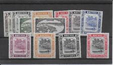 BRUNEI  1947/51  to $1  SG79/90 mint