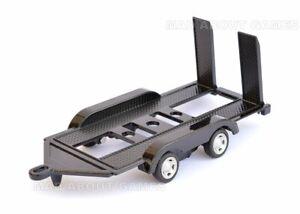 CAR TRANSPORTER TRAILER 1:43 - 1:36 Model Die Cast Metal Models Miniature Auto