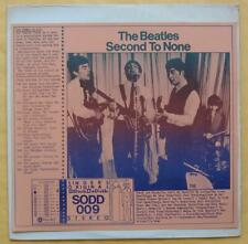 THE BEATLES 2-LP SECOND TO NONE SODD 009