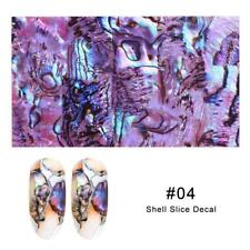 MARBLE PEARL Nail Art Foil Transfer Stickers 3D Nails Manicure Foil 1Pc