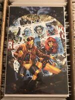 X-MEN 7 CYCLOPS JEAN GREY DAYS OF FUTURES PAST JAY ANACLETO VIRGIN VARIANT COVER