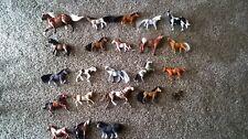 small toy horse lot velvet horses breyer horses plastic horses 23 horses total